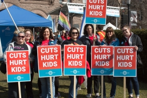 RALLY AT QUEEN'S PARK APRL 2019